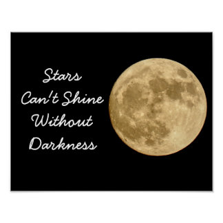 Stars can't Shine -- Art Print