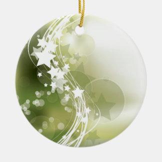Stars Ceramic Ornament