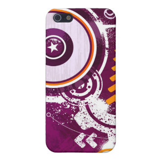 Stars & Circles Illustration Case For iPhone SE/5/5s