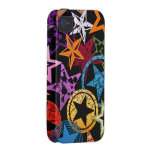 Stars Collage Case-Mate iPhone 4 Covers
