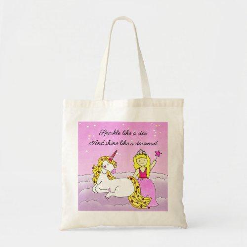 Stars & Diamonds Tote Bag