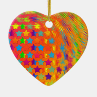 Stars Exploded HEART ORNAMENT