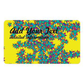 Stars explosion Double-Sided standard business cards (Pack of 100)