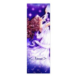 Stars Fairy Bookmark Mini Business Card