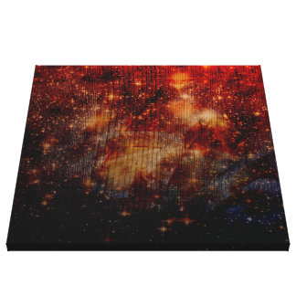 stars falling down,abstract canvas print