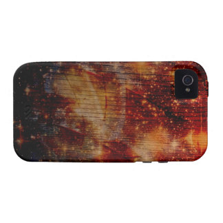 stars falling down, abstract Case-Mate iPhone 4 covers