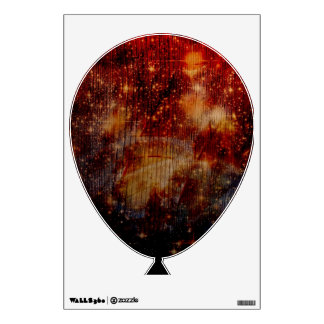 stars falling down, abstract room sticker
