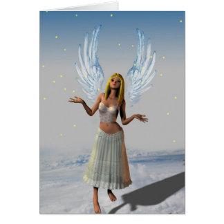 Stars Falling on an Angel (Card)