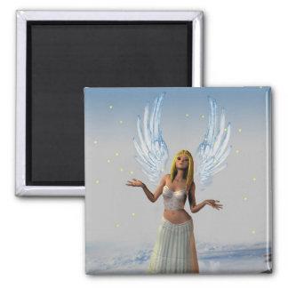 Stars Falling on an Angel (Magnet)