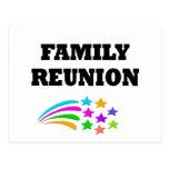 Stars Family Reunion Post Card