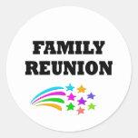 Stars Family Reunion Sticker