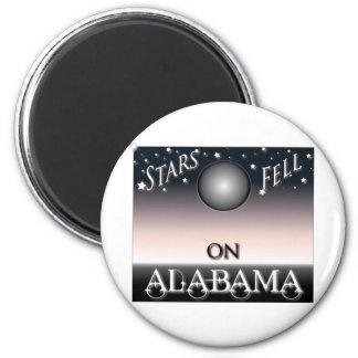 Stars Fell On Alabama 2 Inch Round Magnet