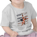 stars.flags camiseta