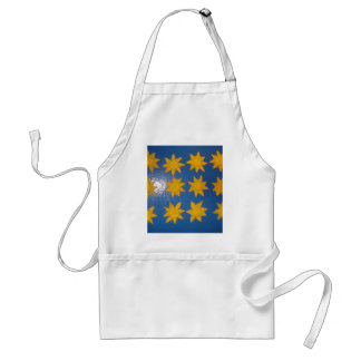 STARS FOR A SUNNY DAY ADULT APRON