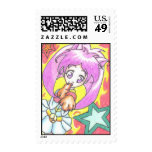 Stars for Aika ACEO Stamp