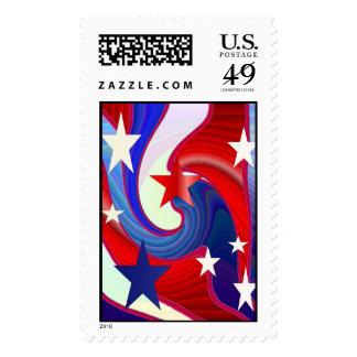 Stars Forever Stamp