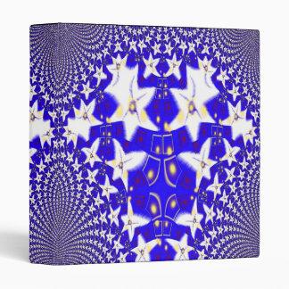 Stars Fractal Art Binder