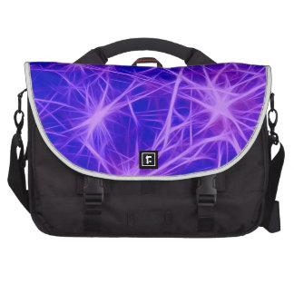 Stars,fractal,blue Laptop Computer Bag