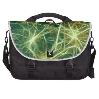 Stars,fractal,green Commuter Bags