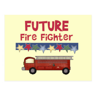 Stars Future Firefighter T-shirts and Gifts Postcard