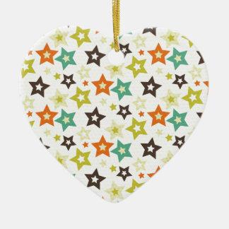 Stars Galore Ceramic Ornament