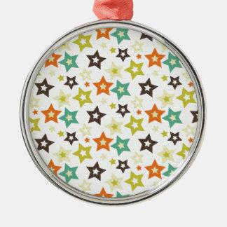 Stars Galore Metal Ornament