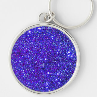 Stars Glitter Sparkle Universe Infinite Sparkly Keychain