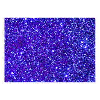 Stars Glitter Sparkle Universe Infinite Sparkly Large Business Card