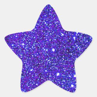 Stars Glitter Sparkle Universe Infinite Sparkly Star Sticker