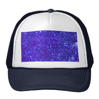 Stars Glitter Sparkle Universe Infinite Sparkly Trucker Hat