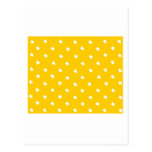 Stars Gold White The MUSEUM Zazzle Gifts Postcard