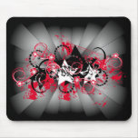 stars grunge composition mouse pad