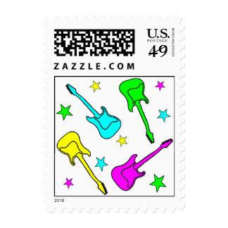 Stars & Guitars Stamps