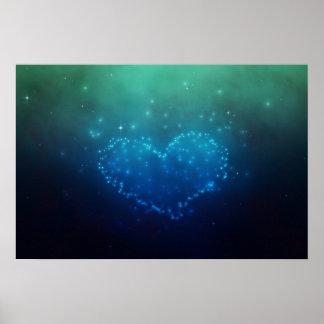 Stars Heart - Poster
