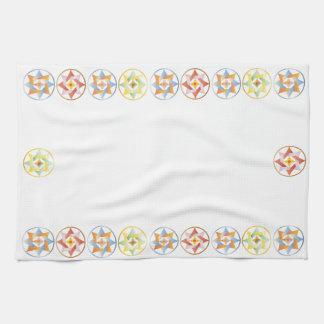 Stars in Circles Matching Set - Celtic Knots - 1 Kitchen Towel