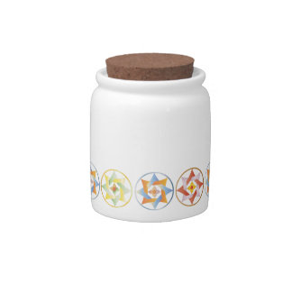 Stars in Circles Matching Set - Cookie Jar - 1 Candy Jar