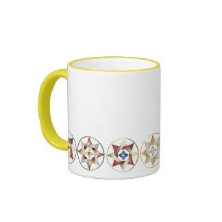 Stars in Circles Matching Set - Ringer Mug - 6