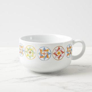 Stars in Circles Matching Set - Soup Mug