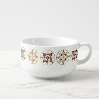 Stars in Circles Matching Set - Soup Mug 2
