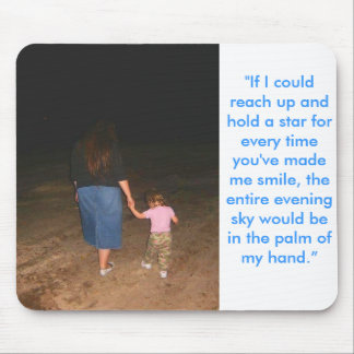 stars in my hand mouse pad