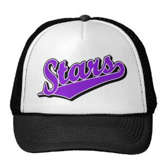 Stars in Purple Trucker Hats