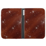 Stars in Red Night sky Kindle Cover