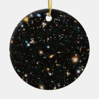 Stars in Space - Hubble Ultra Deep Field Ceramic Ornament