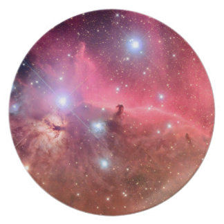 Stars In The Solar System Dinner Plate