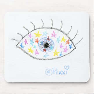 Stars in Their Eyes Mouse Pad