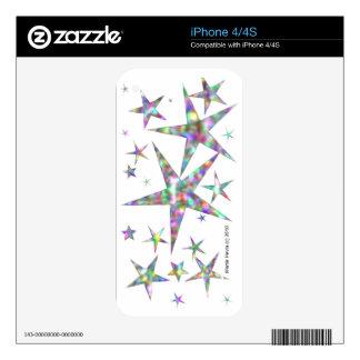 Stars - iPhone 4/4S Skin iPhone 4S Decals