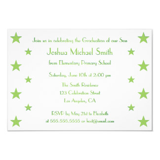 Kids graduation party invitations announcements zazzle stars kids custom graduation party invitation card stopboris
