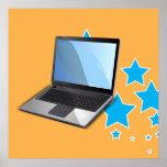 Stars, Laptop Print