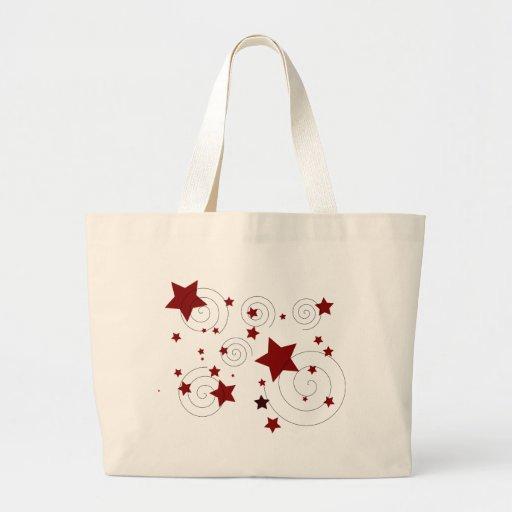 Stars Large Tote Bag