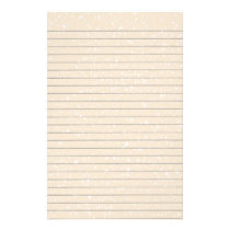 Stars Lined Stationery